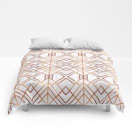 Copper Geo Comforters