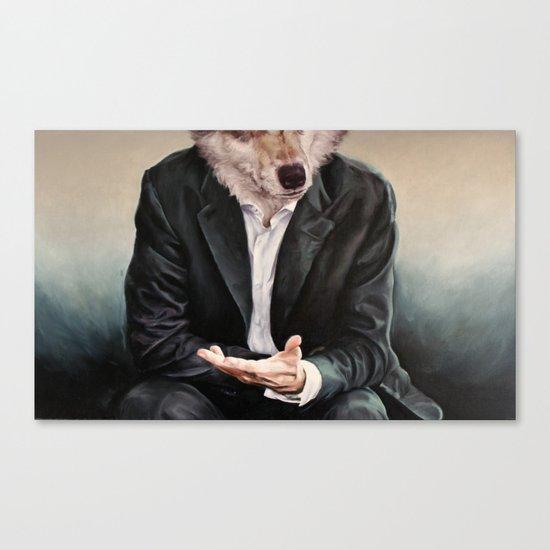 the politician Canvas Print