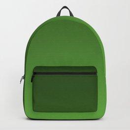 Green Ombré Gradient Backpack