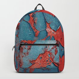 Kaleidoscopic weathered color structure Backpack