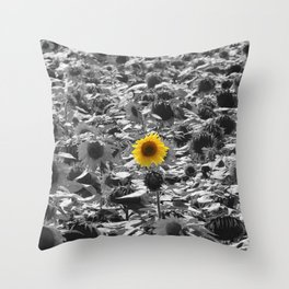 One is the Loneliest Number Throw Pillow