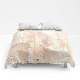Petalite Crystal Watercolor Comforters