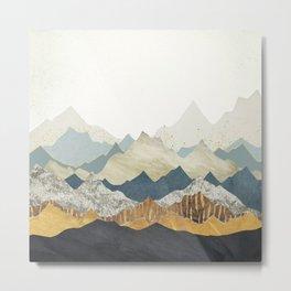 Distant Peaks Metal Print
