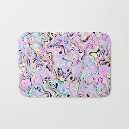 Marbled Pastel Bath Mat