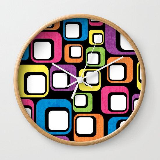 Retro All Sorts. Wall Clock