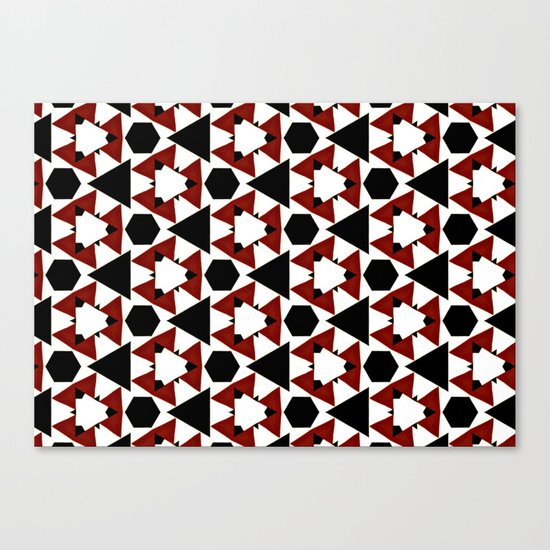 Van Steensel Pattern Canvas Print