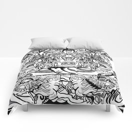 Surreal abstraction of mystery Comforters