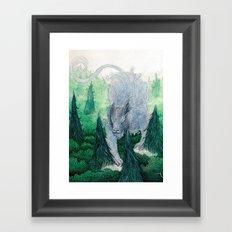 Jungle Cat II Framed Art Print