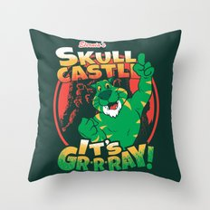 It's Gr-r-ray! Throw Pillow
