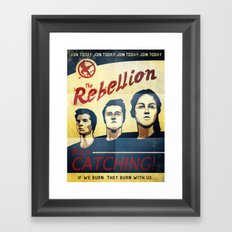 The Rebellion - Propaganda Framed Art Print