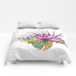 When I Dream of Lionfish Comforters