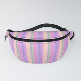 Lilac Pink Purple Scrapbook Sherbert Fanny Pack