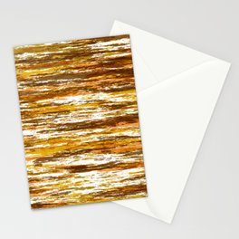 Seventies Woodsy Grains  Stationery Cards