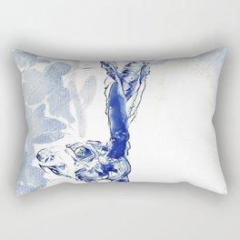 The Blu Hare Rectangular Pillow