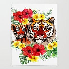 Maternal Stripes Poster