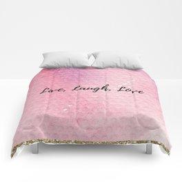 Live, Laugh, Love Comforters