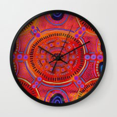 Eye of Spirit III Wall Clock