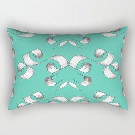 Number 3 - V2 Pencil Rectangular Pillow