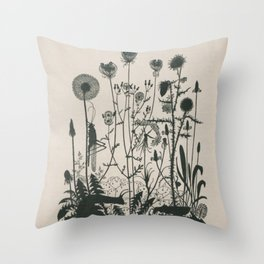 Nouveau Nature Throw Pillow