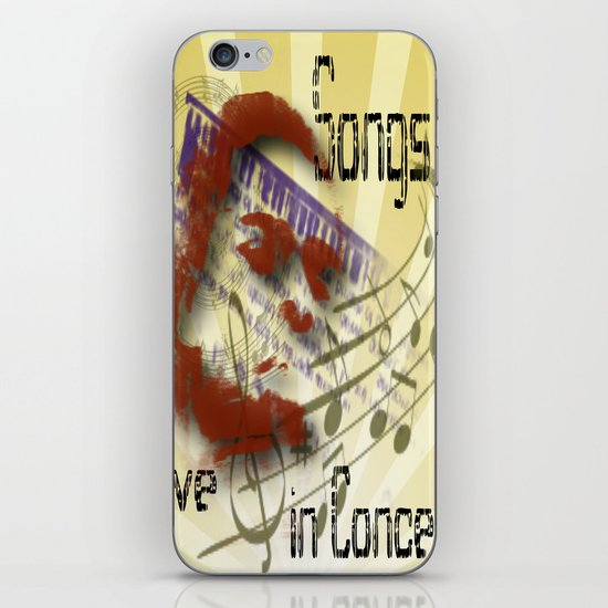 Songs iPhone & iPod Skin