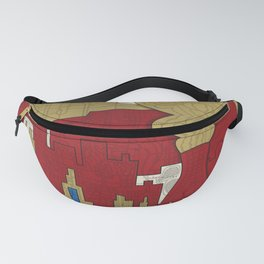 'Segregated By Design' Poster Fanny Pack