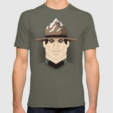 Mountie Mens Fitted Tee Lieutenant SMALL
