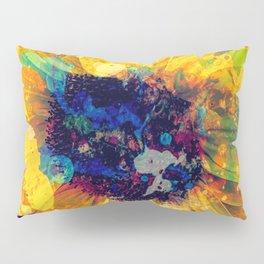 Sunflower Batik Pillow Sham