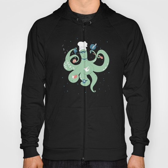 The Octopus Chef Hoody