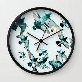 Rise #photography #wildlife Wall Clock
