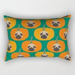 Pugkin Patch Rectangular Pillow