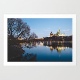 Ottawa at Night Art Print