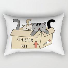 Crazy Cat Lady Starter Kit Rectangular Pillow
