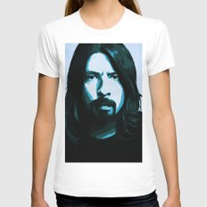 Grohl White Womens Fitted Tee MEDIUM