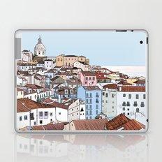 Lisbon cityscape - colours Laptop & iPad Skin