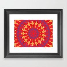 Arabian Tribal Framed Art Print