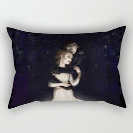 There is no light without darkness Rectangular Pillow