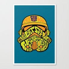 Neon Trooper. Canvas Print