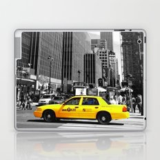The yellow cab Laptop & iPad Skin