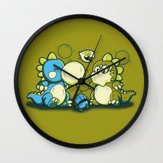 BUBBLE JOKE Wall Clock