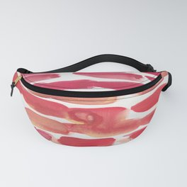 34   | 190408 Red Abstract Watercolour Fanny Pack