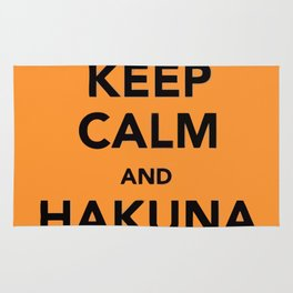 KEEP CALM AND HAKUNA MATATA Rug
