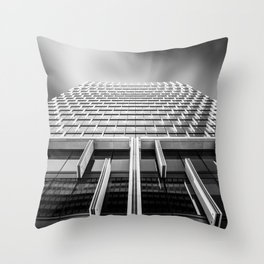 Sunshades Patterns, Light, and Shadow. Throw Pillow