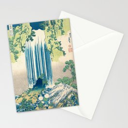 Katsushika Hokusa - Yoro Waterfall in Mino Province Stationery Cards