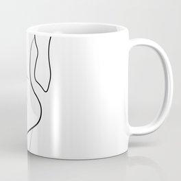 Lovers - Minimal Line Drawing 1 Coffee Mug