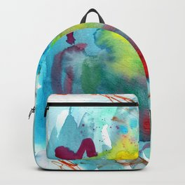 Colors in the Water  Backpack