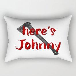Shining Here's Johnny Rectangular Pillow