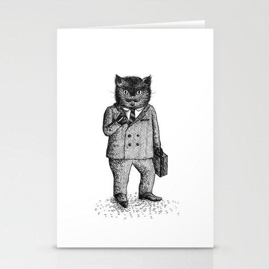 Cat - Boy Stationery Cards