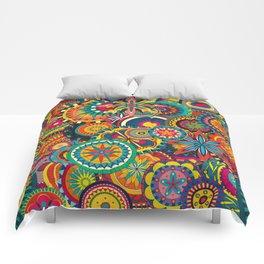 Funky Retro Pattern Comforters