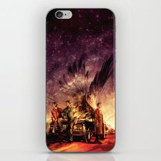 Carry On My Wayward Son iPhone & iPod Skin