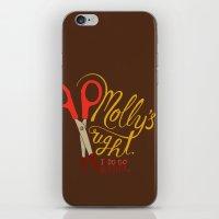 berserk iPhone & iPod Skins featuring Molly's right. I do go berserk. by Chris Piascik